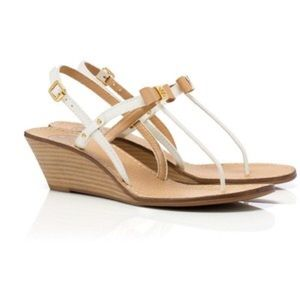 97221f656376 Tory Burch Shoes - Tory Burch Kailey leather wedge thong sandal