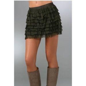 Haute Hippie Dresses & Skirts - Haute Hippie Ruffle Skirt