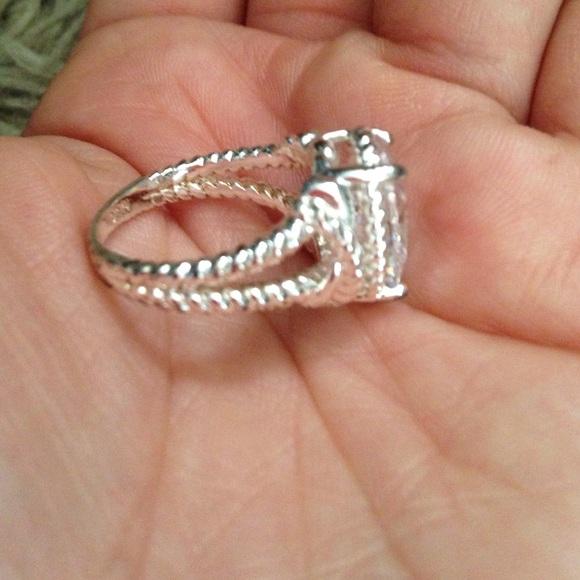 nvc nvc oval silver ring from susana s closet on poshmark