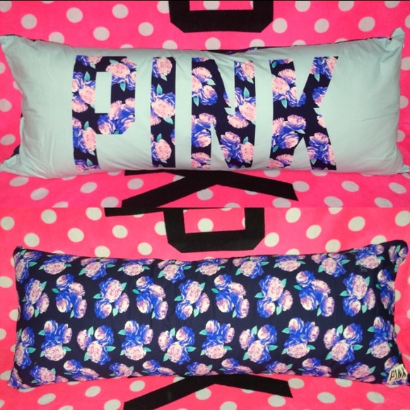 PINK Victoria s Secret - SOLD ?? VS PINK Floral Body Pillow from Vspink_forsale s closet on Poshmark