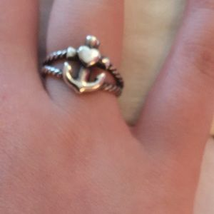 James Avery Faith, Hope & Love Twisted Rope Ring