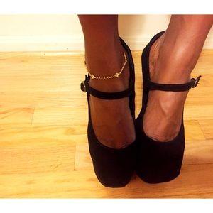 Jeffrey Campbell Shoes - Jeffrey Campbell Night Walk Platform heels
