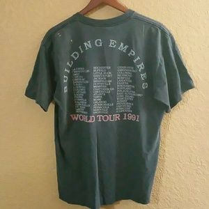 19ac0797fa5 Tee Jays giant Tops - Vintage Queensryche  91 Building Empires Concert T