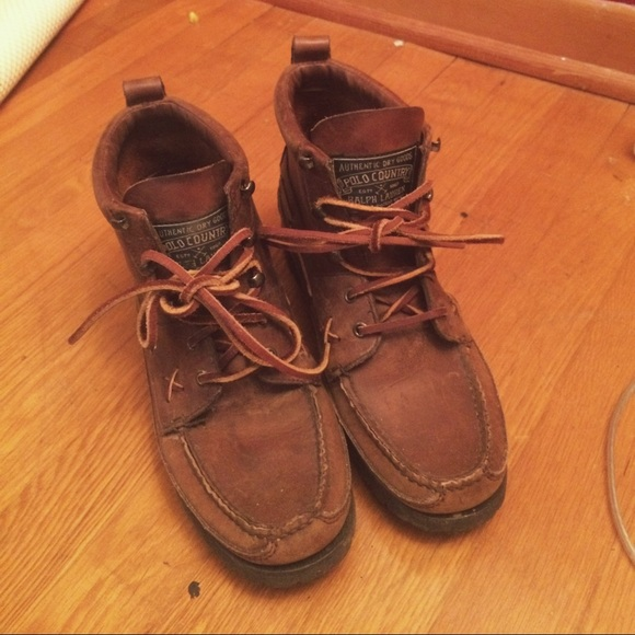 Vintage Ralph Lauren Polo Country Boots