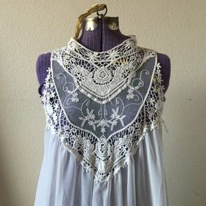 ManGa Dresses & Skirts - Vintage Lace Dress