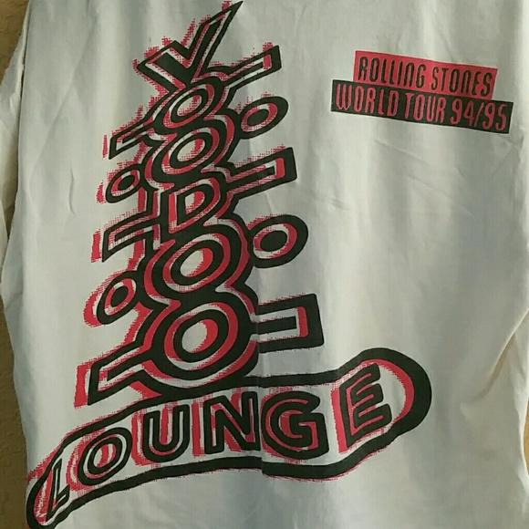 dd34a6a00d81 Brockum Worldwide Tops | Vintage Rolling Stones 9495 Voodoo Lounge ...