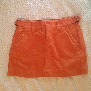 Orange Gap Skirt