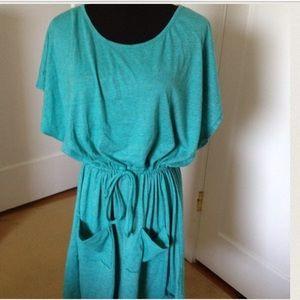 Anthro Teal dress or tunic
