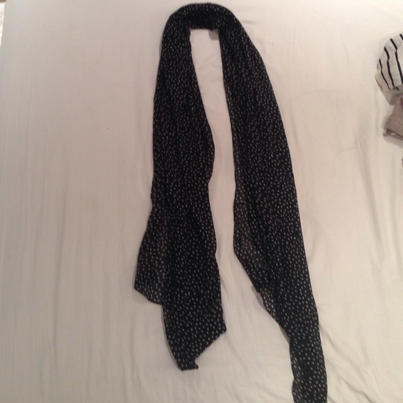 50 the limited accessories polka dot scarf from