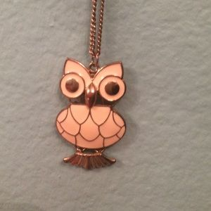 Jewelry - Gold Owl Necklace