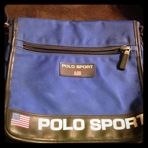 Polo sport bag authentic. M 558a359816ba975234009179 40b9a6565e2d3