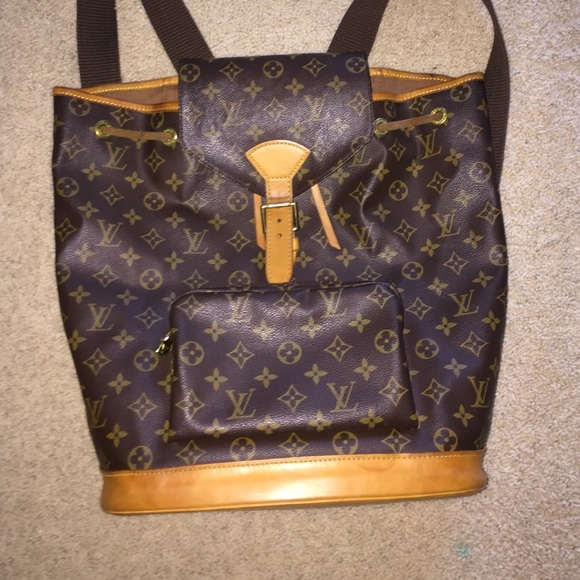 62a500ee37d Louis Vuitton Bags   Montsouris Backpack   Poshmark