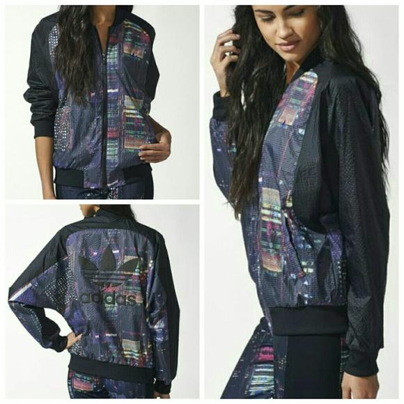 e437a2adf57a ADIDAS Tokyo printed super track jacket