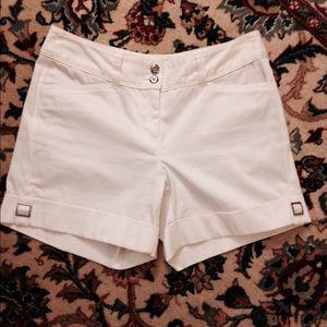 White House Black Market,  cuffed stretch shorts