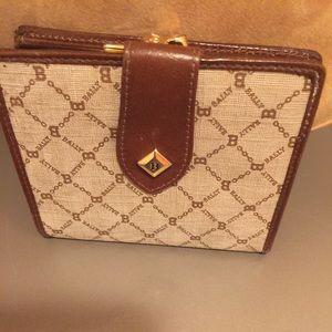 BALLY Handbags - BALLY Vintage Wallet. Excellent Condition. Italy
