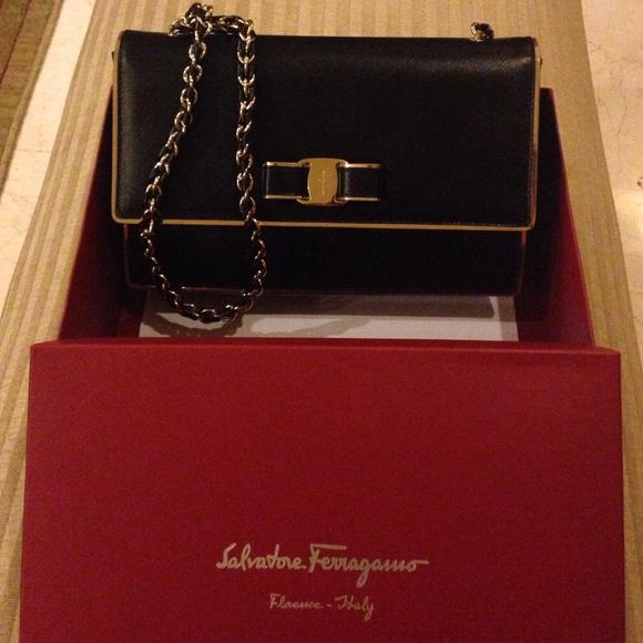 c683f71a80f Salvatore Ferragamo Bags   Medium Vara Flap Bag Brand New   Poshmark