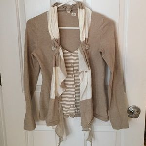 Anthropologie Moth brand cardigan size xsmall