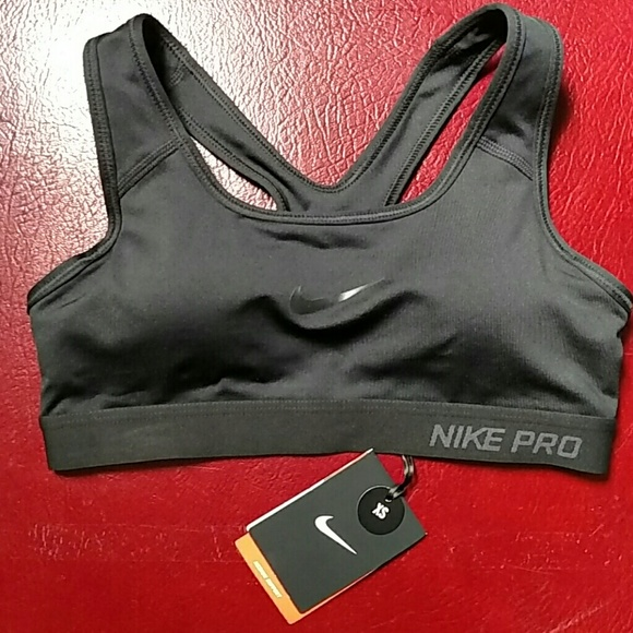 43% off Nike Tops - Nike Pro Removable Padding Padded Sports Bra ...