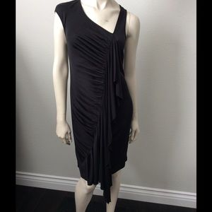 Catherine Malandrino Black Dress Sz XS