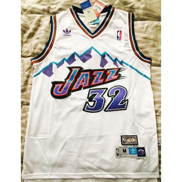 best sneakers 07aa6 950a3 Karl Malone Utah Jazz Jersey NWT