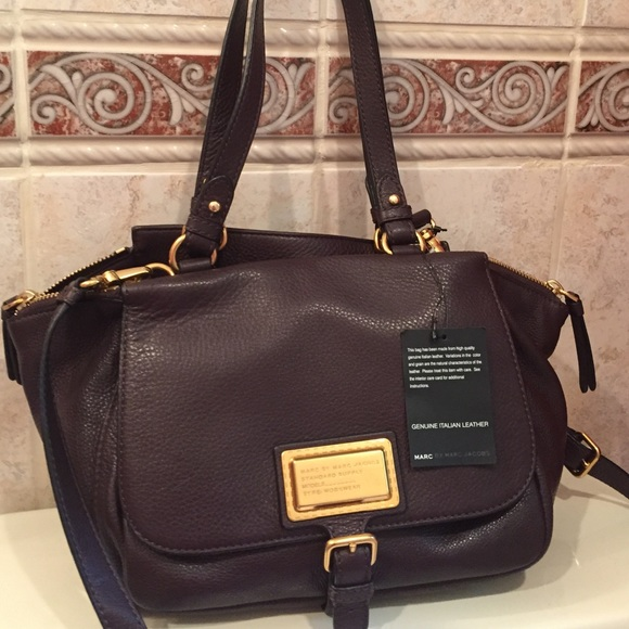 cb5a297ab2a Marc by Marc Jacobs Bags | Nwt Pebbled Leather Bag | Poshmark