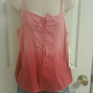 Tops - NWT Truth Adjustable Spaghetti Strap Pink Top