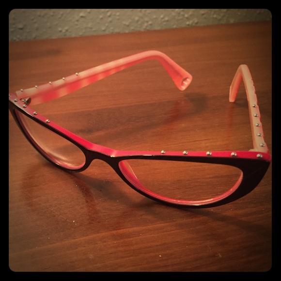 fce061dacca Betsey Johnson Accessories - Betsey Johnson optical eyeglass frames