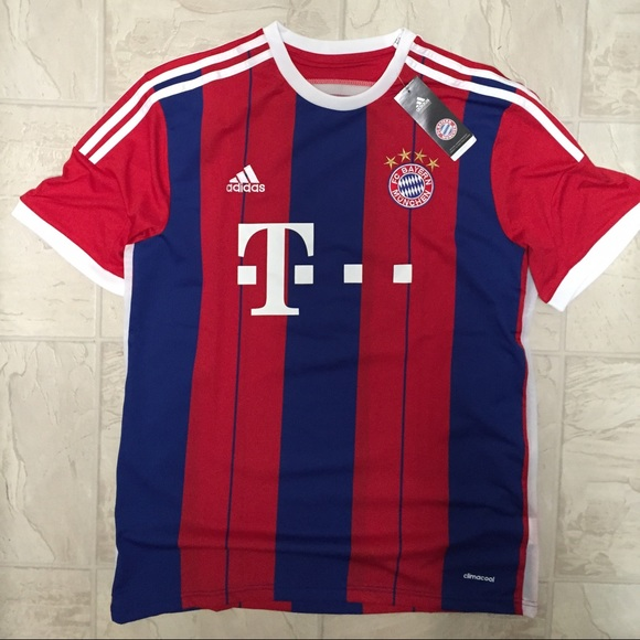 reputable site 59a59 9884e 2014/2015 Bayern Munich Home Men's Robben jersey NWT