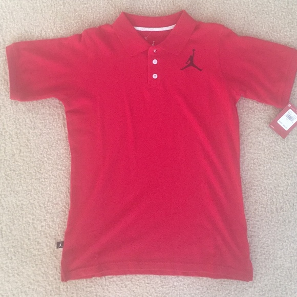 6b29c9844e33 NWT Nike Jordan polo boys kids large 12-13 yrs