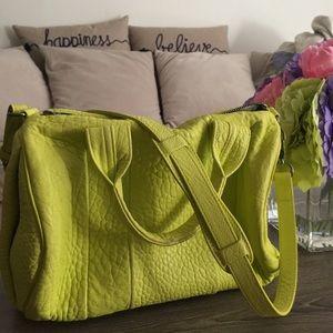 Alexander Wang Rocco bag RARE neon green