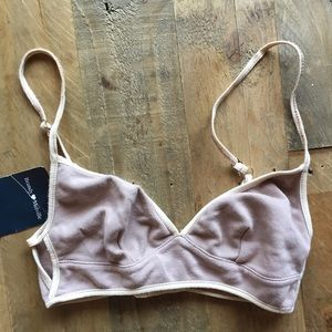 Brandy Melville Cut Out Bralette *NEW*