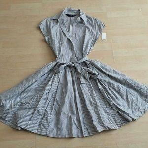 Norma Kamali Dresses & Skirts - Stripped cap sleeve dress