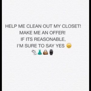 Other - Check out my closet. Now taking reasonable offers!