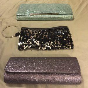 Sparkle clutches *bundle*