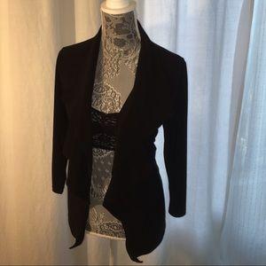 Ellen Tracy Jackets & Blazers - Soft black fitted blazer