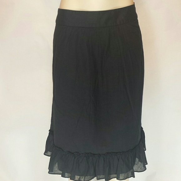 79 j crew dresses skirts j crew black cotton