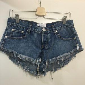 One Teaspoon Pants - One teaspoon Cobain trashwhores 27 NWT