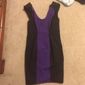 New Robert Rodriguez Dress 4 black purple