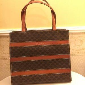 88% off Celine Handbags - Authentic Vintage Celine Small Tote Bag ...