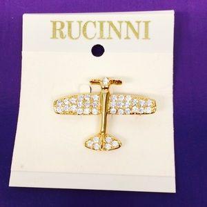 Jewelry - Airplane ✈️ brooch