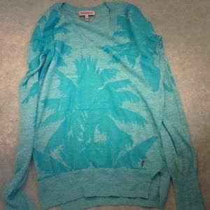 Juicy couture tropical sweater