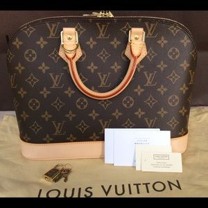 % Authentic Louis Vuitton Monogram Alma