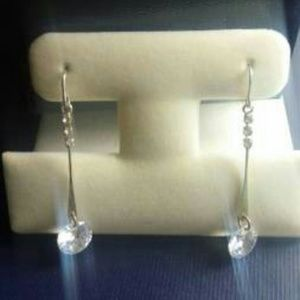 Express Crystal Dangle Drop Earrings