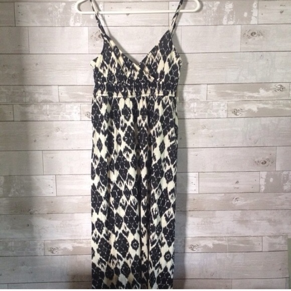 Loft ikat maxi dress