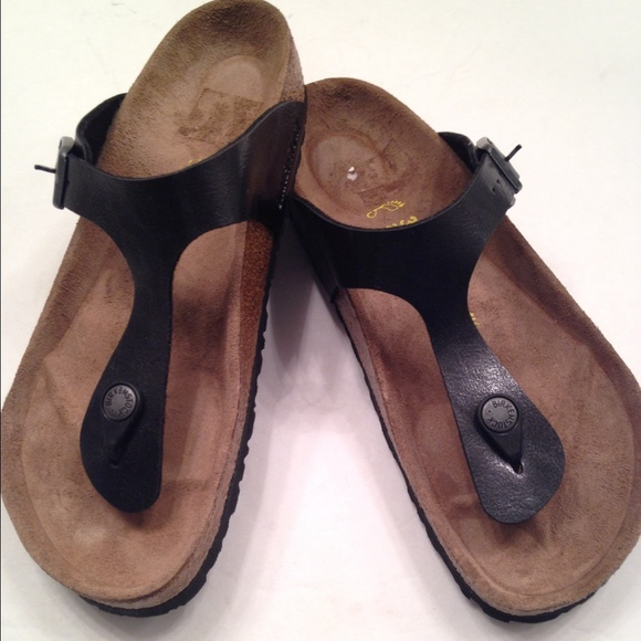 16cb497f4bd Birkenstock Shoes - Birkenstock gizeh licorice thong sandals 38 8