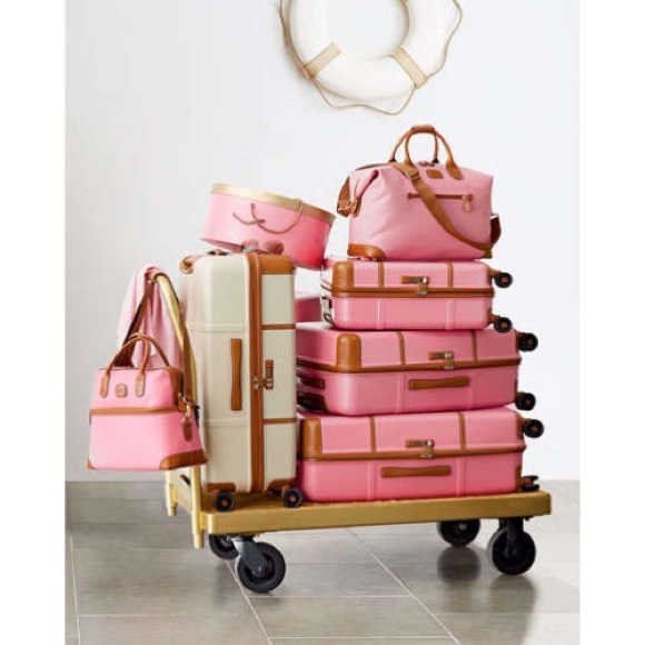 74% off Bric's Handbags - Bric's Pink Luggage from Ellie's closet ...