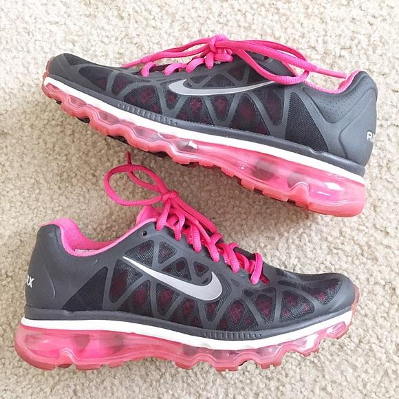 Hot Pink and Grey Nike Air Max