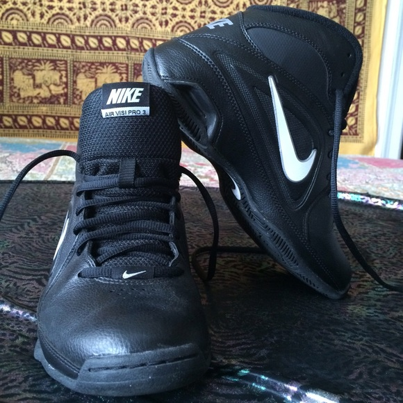 Basketball Air Pro Black Leather 3 Nike Poshmark Visi Shoes OTP0q0