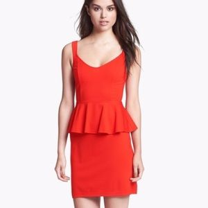 BB Dakota Peplum Dress