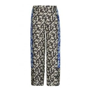 City Chic Plus Size scarf print palazzo pants